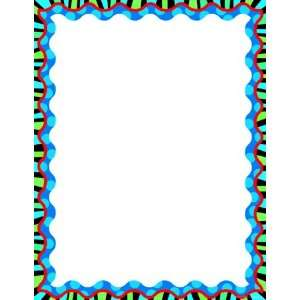 Stripes On Jumbo Dots Blank Chart: Office Products