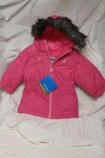 Girls COLUMBIA ski jacket coat parka OMNI SHIELD 2T Toddler size 2 NEW