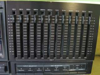 kenwood ge 1100 equalizer spectrum vintage eq