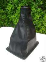 ROVER 200 25 GEAR GAITER SHIFT BOOT BLACK LEATHER NEW