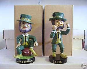 Notre Dame FOOTBALL + FIGHTING IRISH Bobble Bobblehead