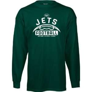 New York Jets  Green  Gym Issue Long Sleeve T Shirt