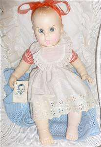 VINTAGE GERBER BABY WITH ORIGINAL TAG AND CLOTHING 1970 VINYL 17