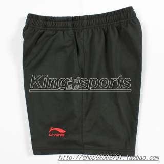 Li Ning Mans Badminton /table tennis shorts Black ,red ,yellow,white
