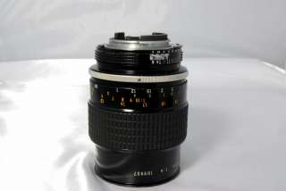 Nikon 105mm f4 Lens Ai micro Nikkor manual focus f4.0 12 close up