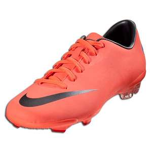Nike Jr Mercurial Glide III FG Bright Mango/Metallic Dark Grey 509109