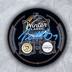 Paul Martin Pittsburgh Autographed/Hand Signed 2011 Winter
