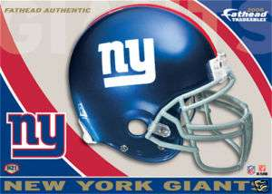 FATHEAD Tradeables New York Giants Helmet Card H21 NY