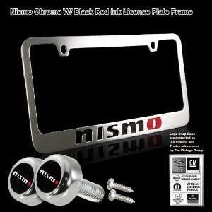 NISMO Black Stamped High Quality Chrome Plating Cast Zinc