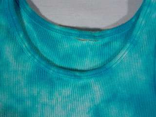 OLD NAVY Blue Tie Dye Tank Top for girls (Pre owned)
