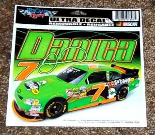 Patrick #7 Go Daddy Nascar Racing Ultra Decal / Sports Bumper Sticker