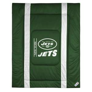 New York Jets NFL Side Line Collection Bed Comforter