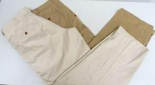 Haggar Plain Front Dress Pants 42x32, 34x29