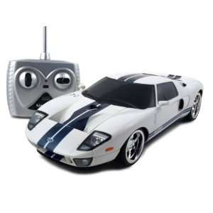 Remote Control Ford GT White 1/18 RC Car Toys & Games