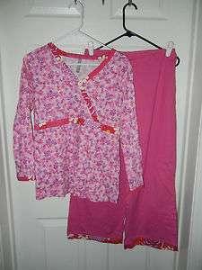 Hanna Andersson Womens Pink Top Pants Set M RL