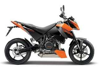 KTM 690 Duke Diecast Model Motorbike (by Maisto 08907)