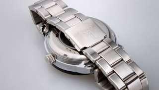 Shinning Fashion Cool Automatic White Gold Mens Wrist Watch