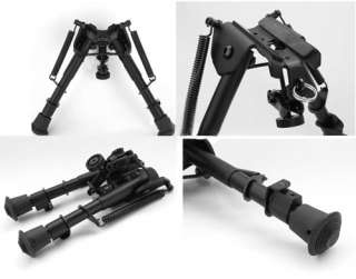picatinny rail adaptor mount spring loaded Legs sniper tactical