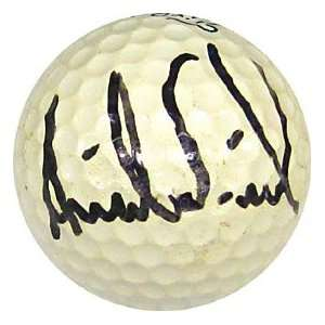 Annika Sorenstam Autographed / Signed Golf Ball Sports