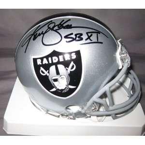 Ken Stabler Autographed/Hand Signed Oakland Raiders Replica Mini