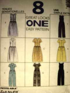 UNCUT McCalls Pattern Dress Jumpsuit 8167 SEWING OOP FF