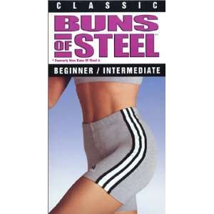 of Steel   Beginner / Intermediate [VHS]: Buns of Steel: Movies & TV