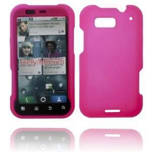 SNAPON SOLID HOT PINK CASE FOR MOTOROLA DEFY MB525 Cell