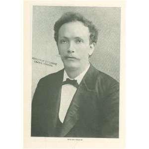 1904 Print Musician Richard Strauss