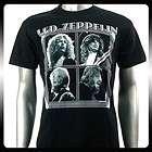 Led Zeppelin Hard Metal Rock Punk Band T shirt Sz M