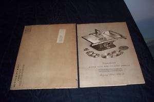 1953 Montgomery Ward Powr Kraft Power Tool Catalog 1952
