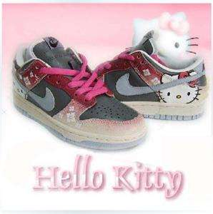 HELLO KITTY Womens Shoes Sneakers Size 5.5 8(36 39)