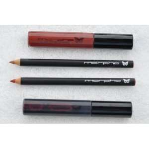 Snap Dragon lip stain, Cho Cho lip gloss, Anamu lip pencil