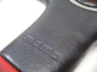 Momo Club 3 Full Leather Original Steering Wheel Rare