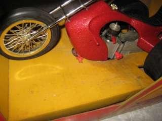 Trike Chopper Gas Engine Powered Super Action Model Box Manual