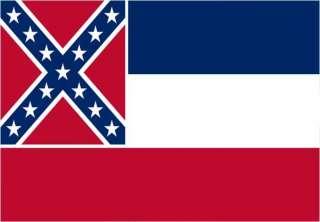 MISSISSIPPI STATE FLAG FRIDGE MAGNET