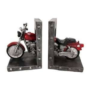 com CHOPPERED ENDS Cool Motorcycle Bookends Book Ends Home & Kitchen