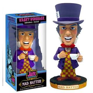 Wacky Wobbler Alice in Wonderland MAD HATTER figure