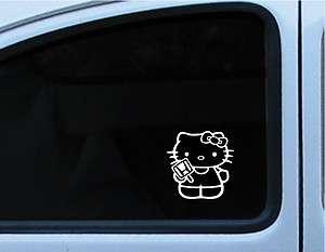 Hello Kitty Honda Logo decal 4