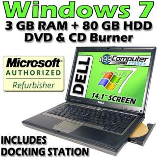 D630 Latitude Laptop Computer Notebook with Warranty DVD Burner