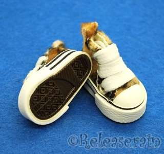 New arrival Micro Fur Leopard Sneakers for Blythe/Pullip and most 1