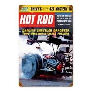 Hot Rod Magazine 1963 May Garlits Metal Sign