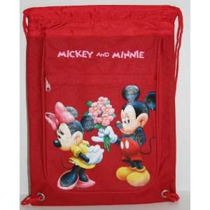 Disney Mickey Mouse and Minnie Mouse Drawstring Backpack Toys & Games