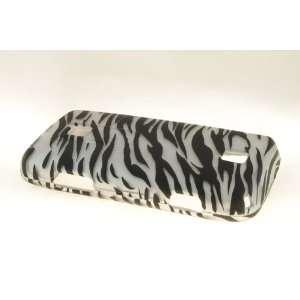 Huawei Ascend M860 Hard Case Cover for BK/SV Zebra