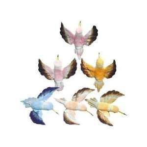 Design Floral and Garden Accents Hummingbird 3 1/2, Assorted Pastel