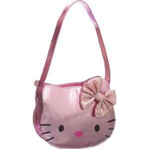 Metallic Pink Hello Kitty Sequin Bow Hobo Toys