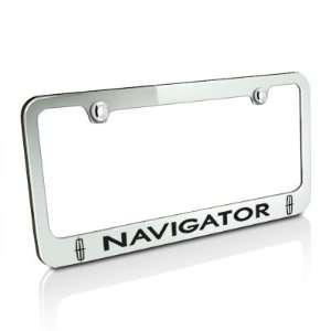 Navigator 2 Logos Chrome Metal License Frame, Official Licensed