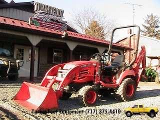 Kubota BX24 Tractor LA240 Loader ST601 Backhoe Mid PTO 23HP