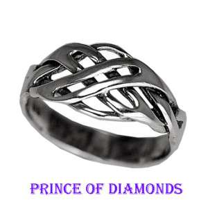 Real Sterling silver .925 infinity knot ring Jewelry Pick your size