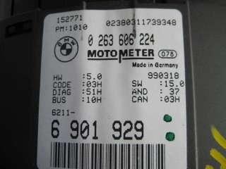 BMW E46 Instrument Cluster Speedometer 99 02 323i 328i 325i Manual 5