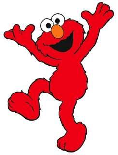 NEW Sesame Street Elmo Iron On Transfer 5x7 LOOK #3